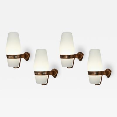 Stilnovo Set of Four Sconces Model 2078