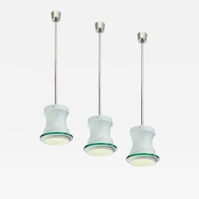 Stilnovo Set of Three Stilnovo Pendant Lights