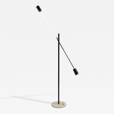 Stilnovo Stilnovo Black and White Floor Lamp