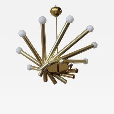 Stilnovo Stilnovo Brass Chandelier