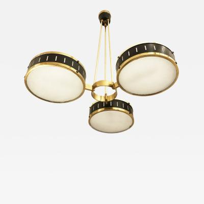 Stilnovo Stilnovo Chandelier with Three Shades