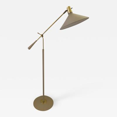 Stilnovo Stilnovo Midcentury Adjustable Height Swing Arm Standing Lamp Reading Lamps