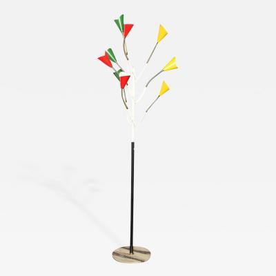 Stilnovo Stilnovo Nine Arm Floor Lamp Italy 1955