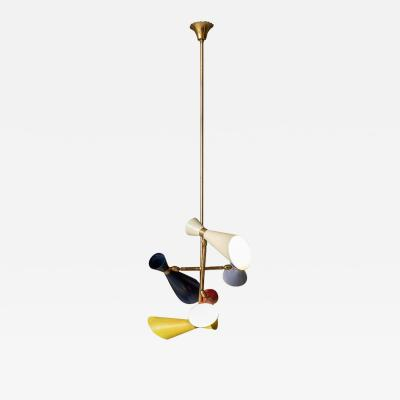 Stilnovo Stilnovo Pendant with Five Lights