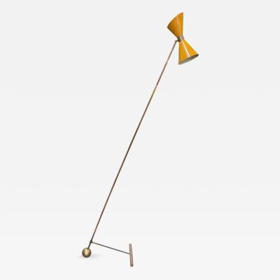 Stilnovo Stilnovo Style Counterweight Floor Lamp Italy 1950s