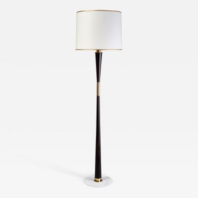 Stilnovo Stilnovo Tapered Wood Floor Lamp Italy 1950s