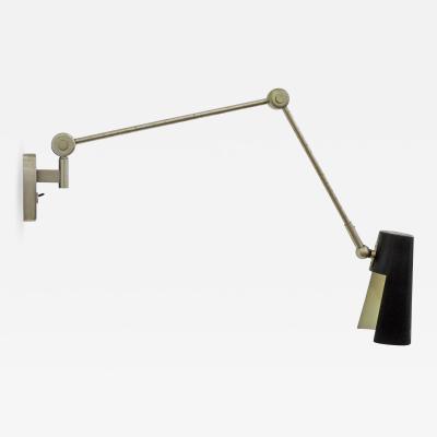 Stilnovo Stilnovo adjustable wall lamp Italy 1950s