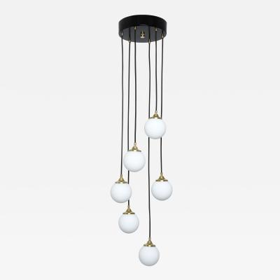Stilnovo Stilnovo attributed Cascading Chandelier