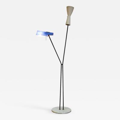 Stilnovo Stilnovo floor lamp with two diffusers