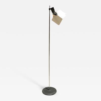 Stilnovo Stilnovo steel and metal floor lamp 1970s
