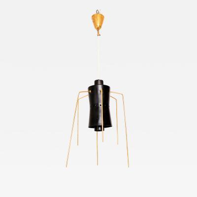 Stilnovo Style of Stilnovo Chandelier Bug SPIDER Leg Pendant Light from Italy 1950s