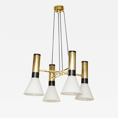 Stilnovo Suspension Light by Stilnovo no 1174 Italy c 1950
