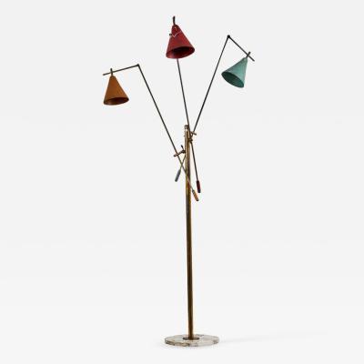 Stilnovo Three Arm Floor Lamp by Stilnovo