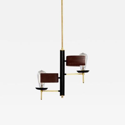 Stilnovo Two Lights Chandelier