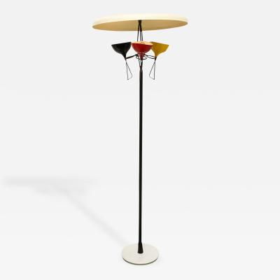 Stilnovo Unusual Three Light Floor Lamp by Stilnovo