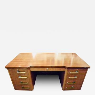 Stow Davis Furniture Co Professional Art Deco Desk by Stow and Davis