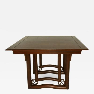 Stratford House Walnut Dining Table Oriental Style Stratford House 1953