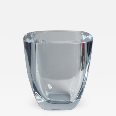 Strombergshyttan Glass Vase by Strombergshyttan Sweden 1970s