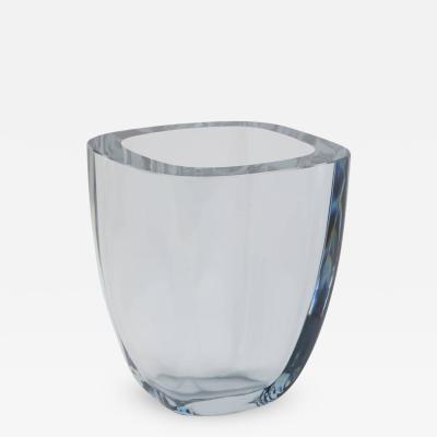 Strombergshyttan Large Rectangular Strombergshyttan Glass Vase
