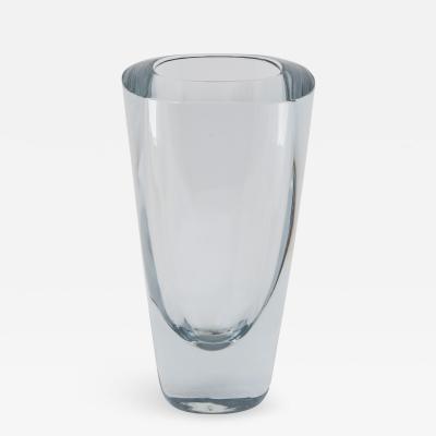 Strombergshyttan Rectangular Strombergshyttan Glass Vase circa 1950s