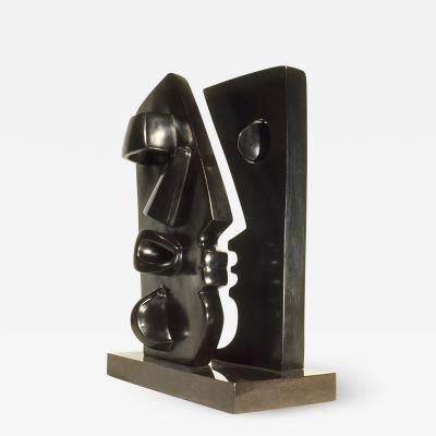 Strong Cuevas Sculpture by Strong Cuevas Floating Eye Wall 1982