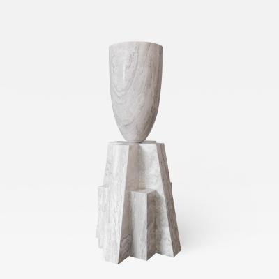 Studio Arno Declercq Babel Marble Vase Arno Declercq