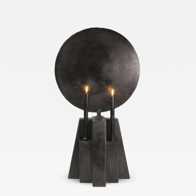 Studio Arno Declercq Burned Patinated Candleholder Arno Declercq