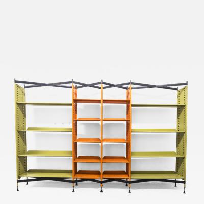 Studio BBPR Combinable Spazio Shelving System for Olivetti 1960s