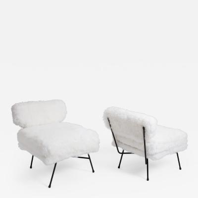 Studio BBPR Pair of Elettra Lounge Chairs by BBPR