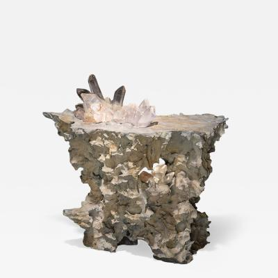 Studio Greytak Erosion Cast Bronze Luminaire