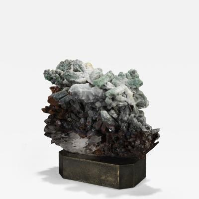 Studio Greytak Moroccan Quartz on Bronze Base