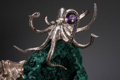 Studio Greytak Oscar Cast Bronze Octopus