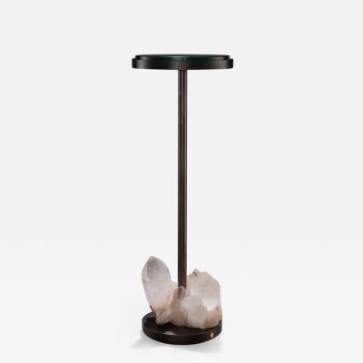 Studio Greytak Studio Greytak Havana Table 4 Himalayan Quartz Bronze Occasional Table