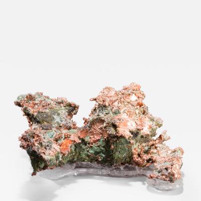 Studio Greytak Studio Greytak Native Copper on Crystal Base Copper and Clear Quartz