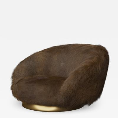Studio SORS ELF Lounge Chair Angora Brown