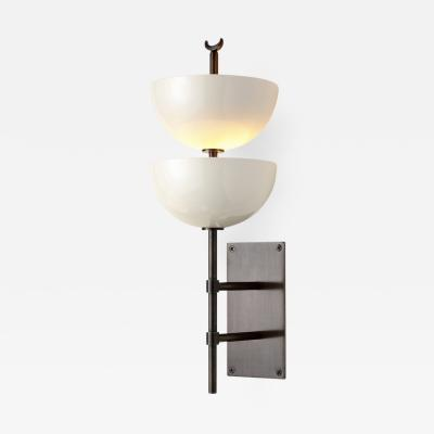 Studio Van den Akker The Small Gilles Wall Sconce with Powder Coated Metal Shades