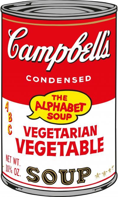 Sunday B Morning Soup Can Vegetarian Vegetable