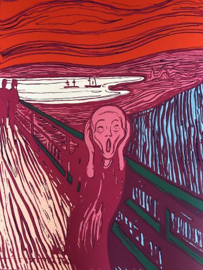 Sunday B Morning The Scream Pink