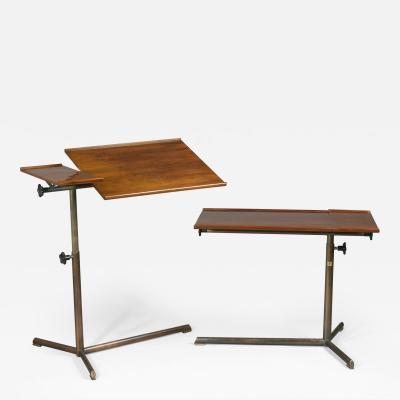 Suter Strehler An Adjusting Reading Table by Suter Strehler ca 1950