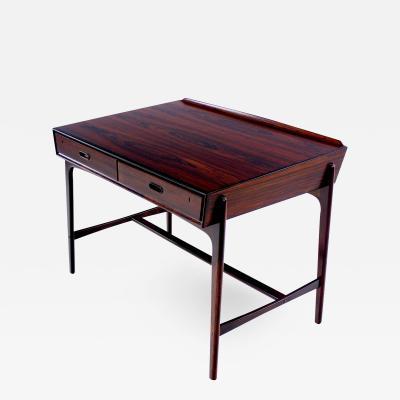 Svend Madsen Extremely Rare Danish Modern Rosewood Desk Designed by Svend Madsen