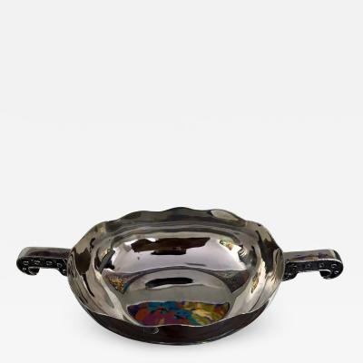 Tane Orfebres Sterling Silver Dish with Handles by Tane Orfebres
