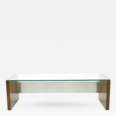 Tecno Large Executive Writing Desk by Marco Fantoni for Tecno in Wenge 1960s