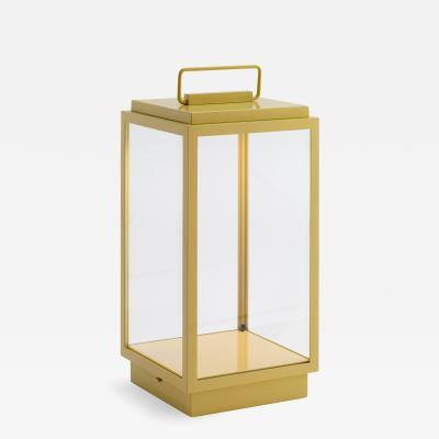 Tekna Tekna Blakes Table Lamp in Bronze with Maize Lacquer