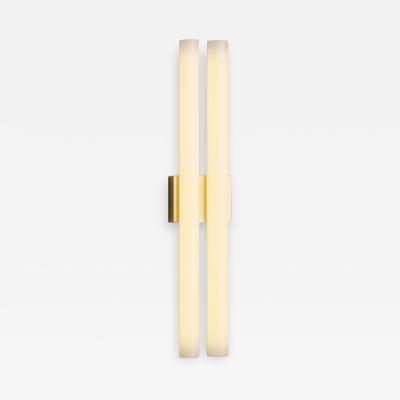 Tekna Tekna Phare Double Wall Lamp with Polished Brass Finish Large