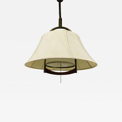 Temde Leuchten HEIGHT ADJUSTABLE PENDANT LAMP BY TEMDE 1970S