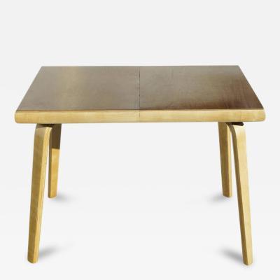 Thaden Jordan Furniture Co Rare Bent Plywood Dining Table by Thaden Jordan Furniture