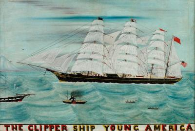 The Clipper Ship Young America
