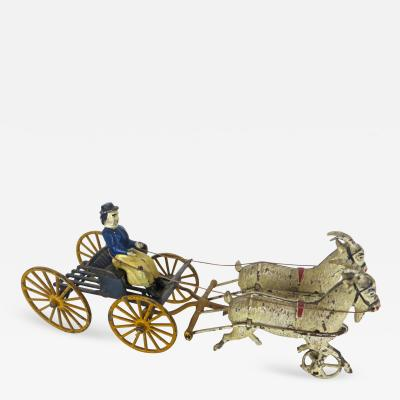 The Harris Toy Company Goat Drawn Lady Driver American Toy by Harris Toy Company circa 1903