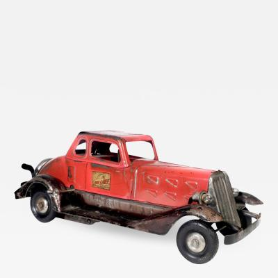The Hoge Manufacturing Co HOGE Pressed Steel Fire Chief Car