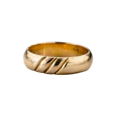 The Kalo Shop American Arts Crafts Kalo Gold Band